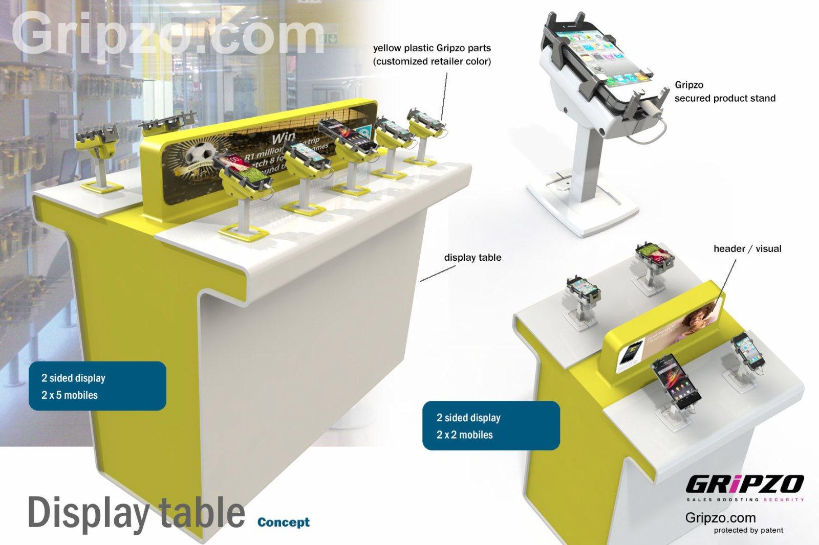 gripzo-custom-yellow-display-table-051213.jpg